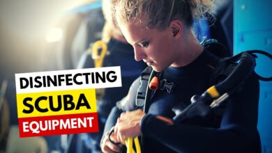 Disinfecting Scuba Equipment
